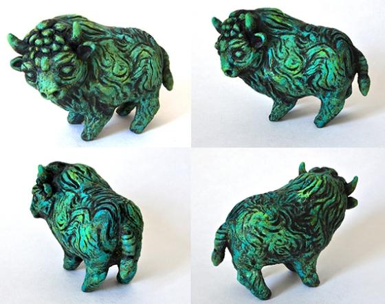 Fantasy buffalo